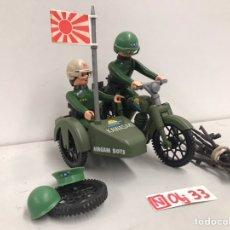 Juguetes antiguos: MOTORISTA AIRGAM BOYS - KAWASAKI. Lote 195140427