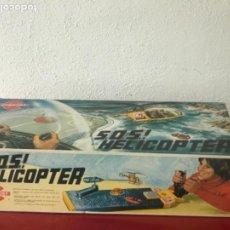 Juguetes antiguos: SOS HELICOPTERO DE RESCATE, CONGOST, AÑOS 70 SIN ESTRENAR. VER FOTOS. . Lote 195172867