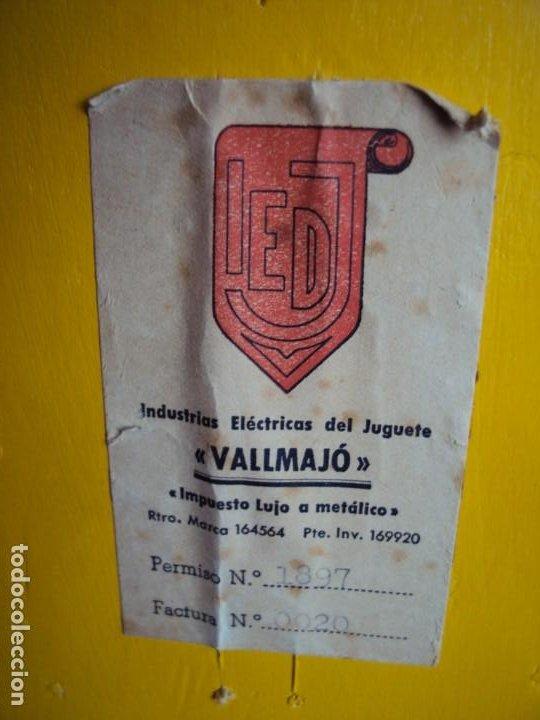 Juguetes antiguos: (JU-200290)INDUSTRIAS ELECTRICAS DEL JUGUETE VALLMAJO - FU MAN CHU - Foto 7 - 195314333