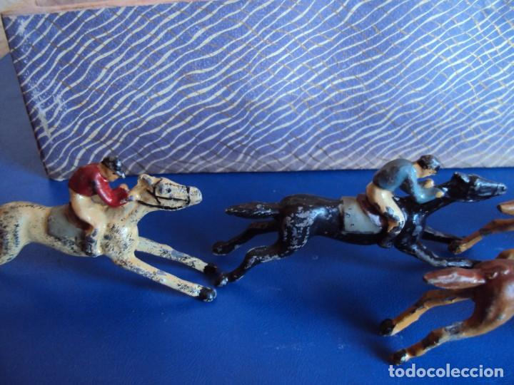 Juguetes antiguos: (JU-200290)CARRERAS DE CABALLO MECANICAS - CREACIONES HISPANIA - MADRID - Foto 3 - 195316637