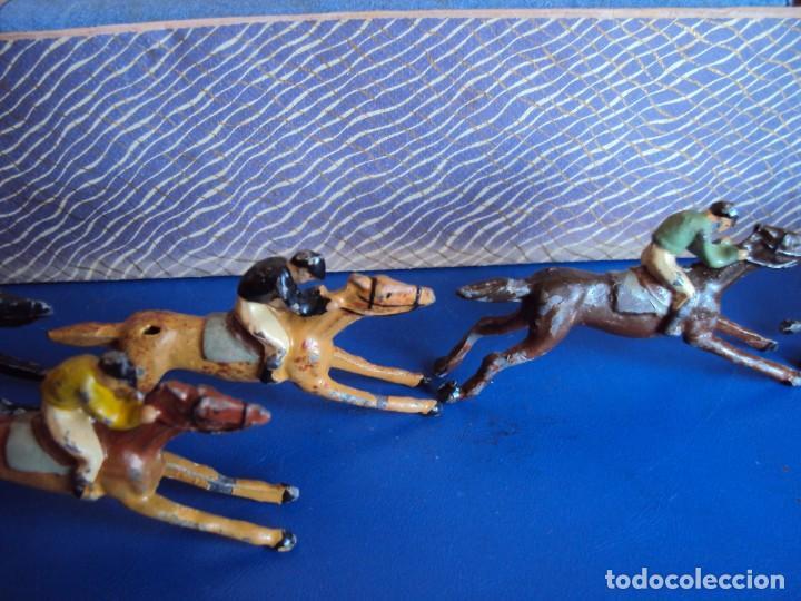 Juguetes antiguos: (JU-200290)CARRERAS DE CABALLO MECANICAS - CREACIONES HISPANIA - MADRID - Foto 4 - 195316637