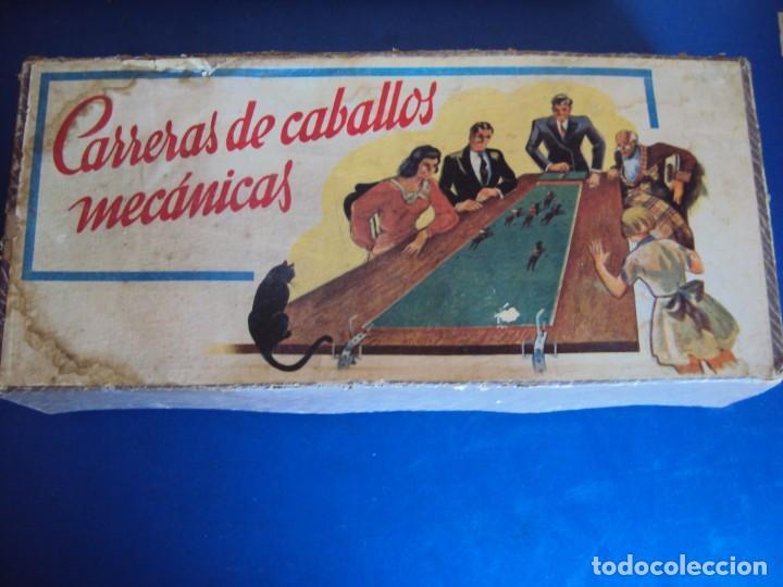 Juguetes antiguos: (JU-200290)CARRERAS DE CABALLO MECANICAS - CREACIONES HISPANIA - MADRID - Foto 12 - 195316637