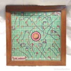 Juguetes antiguos: GÓL ATÓMICO AÑOS 30 JUEGO DE MESA. MED. 35 X 35. Lote 195358057