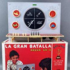 Juguetes antiguos: LA GRAN BATALLA RADAR GR 6 JUGUETES GRACIA AÑOS 70 NO FUNCIONA. Lote 196623091