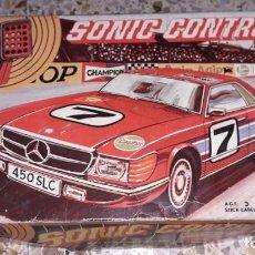 Juguetes antiguos: COCHE SONIC CONTROL DIRIGIDO POR SONIDO, PACTRA GT CARRERA, COCHE ANTIGUO, JUGUETE ANTIGUO. Lote 196795062