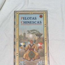 Brinquedos antigos: PELOTAS CHINESCAS AÑOS 20 PINBALL, JUEGO SOBREMESA CARTÓN Y MADERA. MED. 25 X 58 X 3,50 CM. Lote 197598182