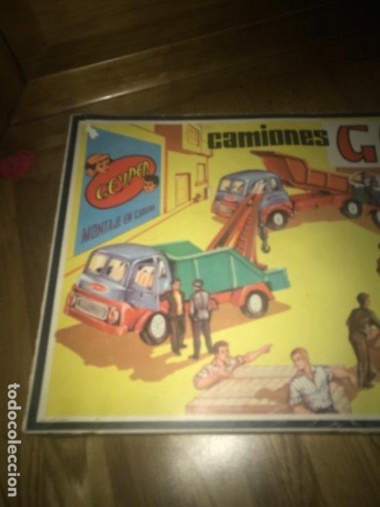 Juguetes antiguos: CAJA Camion Geyper montado. Años 70 CAMIONES GEYPER - Foto 21 - 197691048