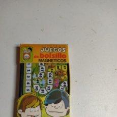 Juguetes antiguos: JUEGO DE BOLSILLO MAGNÉTICOS CHICOS. Lote 198509598