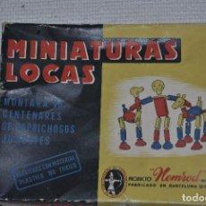 Juguetes antiguos: MINIATURAS CLASICAS PRODUCTO NEMROD. Lote 198683726