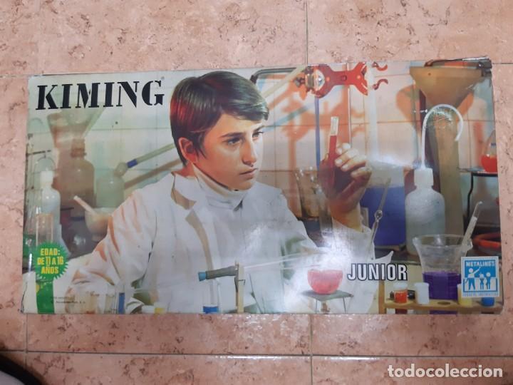 KIMING-JUEGO DE QUIMICA - EDAD 11 A 16 AÑOS. ORIGINAL AÑO 1969. (Juguetes - Marcas Clasicas - Otras Marcas)