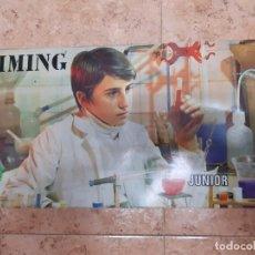Juguetes antiguos: KIMING-JUEGO DE QUIMICA - EDAD 11 A 16 AÑOS. ORIGINAL AÑO 1969.. Lote 199841911