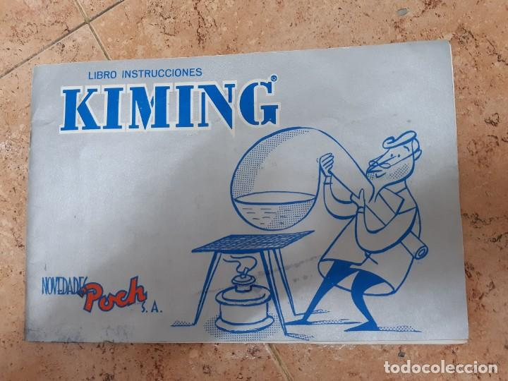 Juguetes antiguos: KIMING-JUEGO DE QUIMICA - EDAD 11 A 16 AÑOS. ORIGINAL AÑO 1969. - Foto 4 - 199841911
