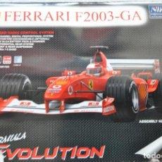 Juguetes antiguos: FERRARI F2003-GA R/C ESCALA 1/10 COMPLETO. Lote 200338310
