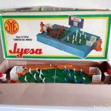 Juguetes antiguos: JUEGO DE FUTBOL CAMPEON DEL MUNDO JYESA. Lote 201134153