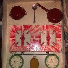 Juguetes antiguos: COCINA DE MANUEL PICÓ ORIGINAL. Lote 201565717