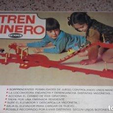 Juguetes antiguos: GEYPER TREN MINERO GEYPER REF. 6057 ,Nº 2 TREN ANTIGUO, TREN DE JUGUETE, JUGUETES GEYPER. Lote 229081995