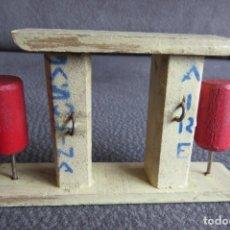 Juguetes antiguos: ANTIGUO POSTE GASOLINA AIRE - MADERA DENIA - GASOLINERA. Lote 202260865