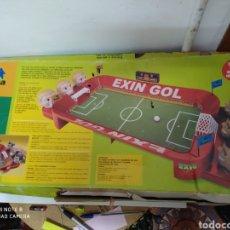 Juguetes antiguos: EXIN GOL FUTBOL. Lote 202367166