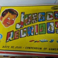 Juguetes antiguos: JUEGOS REUNIDOS GEYPER 35. Lote 202955166