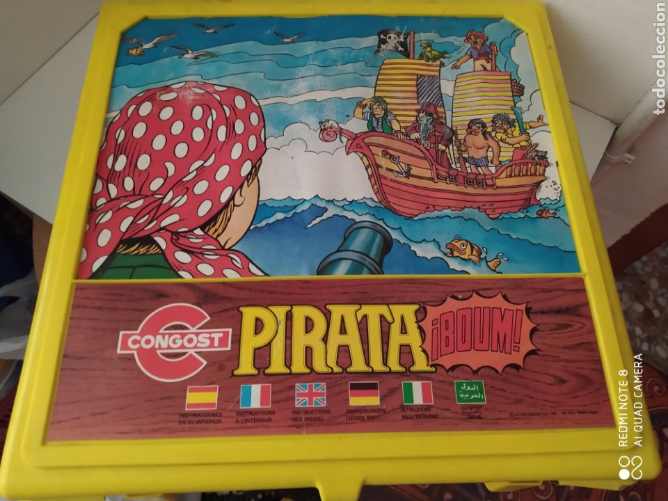 Juguetes antiguos: Juego pirata congost - Foto 2 - 203198078