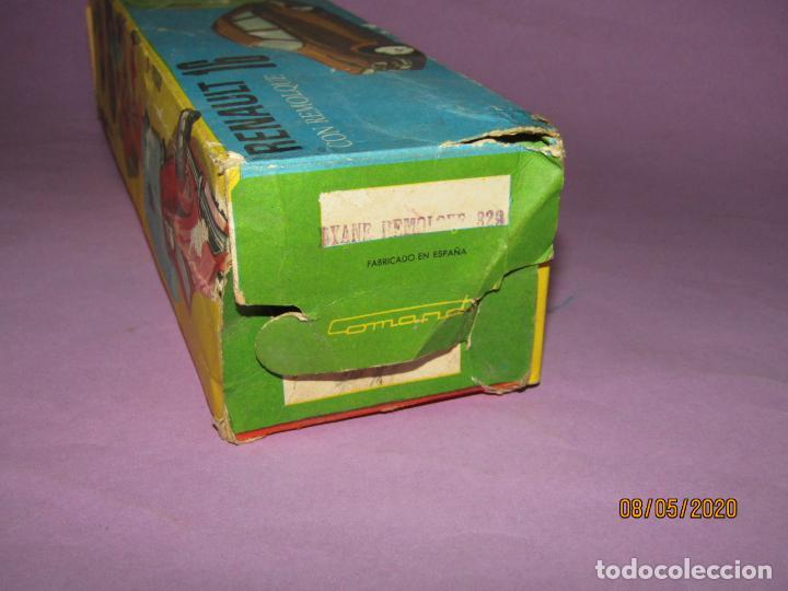 Juguetes antiguos: Antigua Caja Vacía del CITROËN DYANE 6 con Caravana Ref. 329 de Juguetes COMANDO - Foto 5 - 203423606