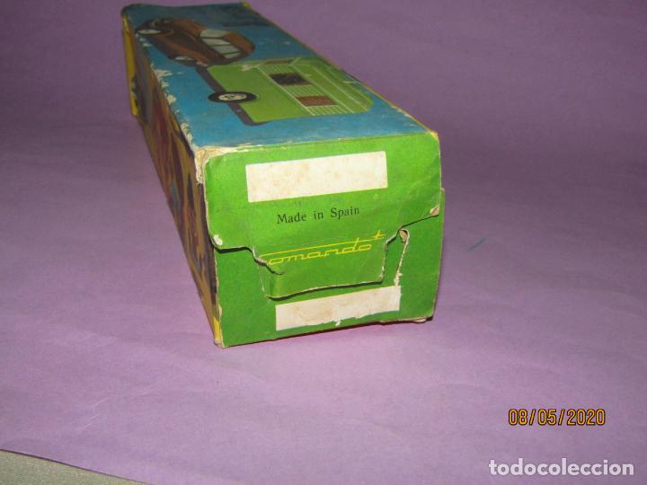 Juguetes antiguos: Antigua Caja Vacía del CITROËN DYANE 6 con Caravana Ref. 329 de Juguetes COMANDO - Foto 6 - 203423606