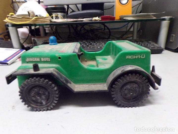 Juguetes antiguos: antiguo coche plastico police airgam boys rch1-u 20cm - Foto 2 - 203476250