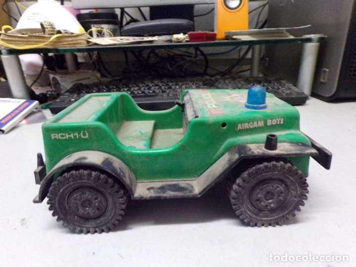 Juguetes antiguos: antiguo coche plastico police airgam boys rch1-u 20cm - Foto 3 - 203476250