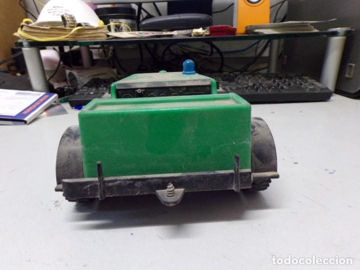 Juguetes antiguos: antiguo coche plastico police airgam boys rch1-u 20cm - Foto 4 - 203476250