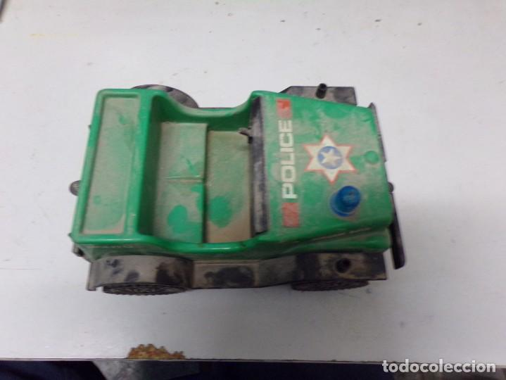 Juguetes antiguos: antiguo coche plastico police airgam boys rch1-u 20cm - Foto 5 - 203476250