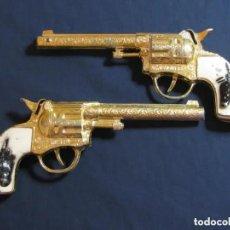 Brinquedos antigos: 2 X SAGIVER N.62 REVOLVER DETONADOR. Lote 203945356
