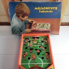 Juguetes antiguos: MILLONCETE FULBOLCETE DE AIRGAM. Lote 204117607