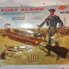 Juguetes antiguos: FORT ALAMO,REDONDO,BLISTER,A ESTRENAR. Lote 204398508