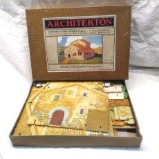 Juguetes antiguos: ARCHITEKTON MASIA CATALANA DE SEIX Y BARRAL AÑOS 30, COMPLETO. Lote 204499170