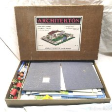 Juguetes antiguos: ARCHITEKTON VILLA TERESITA DE SEIX Y BARRAL AÑOS 30, COMPLETO. Lote 204499315