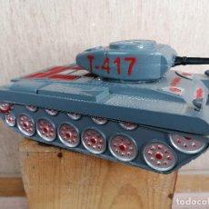Brinquedos antigos: TANQUE COMANDO T-417, AÑOS 60. Lote 204612190