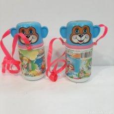 Brinquedos antigos: PAREJA CANTIMPLORAS SHAMBERS. Lote 205187522