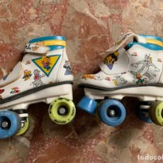 Juguetes antiguos: PATINES TOM Y JERRY. Lote 205241517