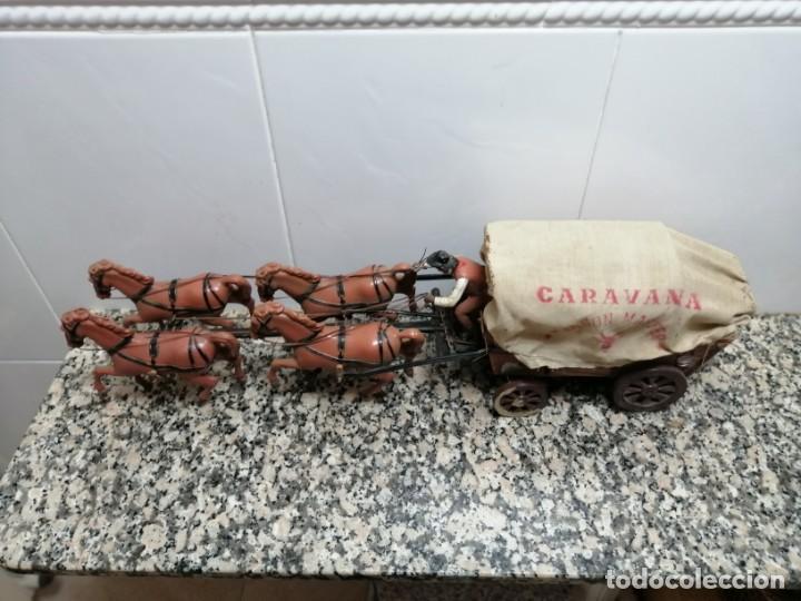 Juguetes antiguos: ANTIGUA CARAVANA WAGON MASTER - Foto 5 - 205264952