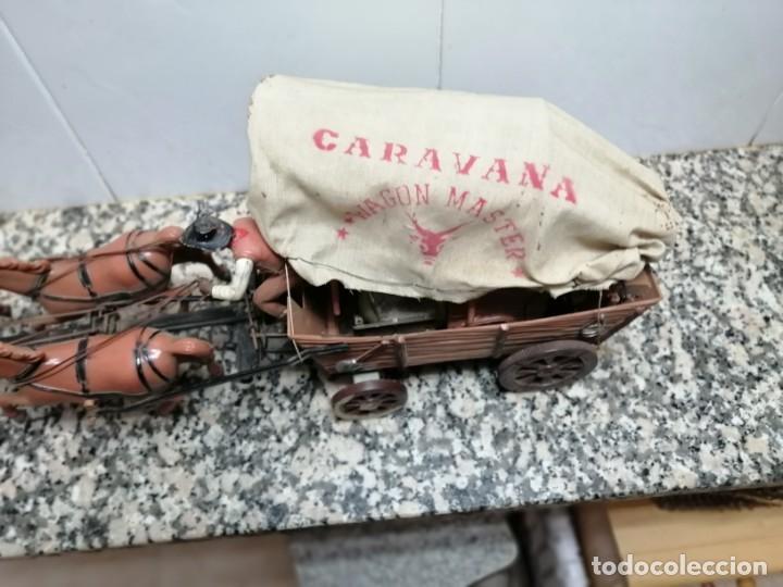 Juguetes antiguos: ANTIGUA CARAVANA WAGON MASTER - Foto 6 - 205264952