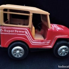 Juguetes antiguos: JEEP 4X4 - CHINO AÑOS 80, DIECAST METAL- COCHE A FRICCION- 11X7X6CM.. Lote 205701998