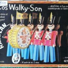 Brinquedos antigos: LOS WALKY SON - GEYPER - AÑOS 60-70 - CAJA ORIGINAL - NO FUNCIONA. Lote 205789700
