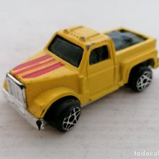 Juguetes antiguos: CAMION DE TRANSPORTE, MADE IN CHINA, MEDIDAS 6 X 2,5 X 2 CM. Lote 206268485