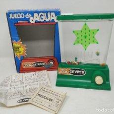 Juguetes antiguos: GEYPER. JUEGO DE AGUA. ESTRELLA. CON CAJA, INSTRUCCIONES Y GARANTÍA ORIGINAL. Lote 206576260