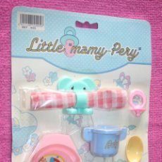 Juguetes antiguos: LITTLE MAMY (PERY) * ANTIGUO JUGUETE INFANTIL * EN BLISTER ORIGINAL * AÑOS 80 * LIQUIDACIÓN. Lote 207885053