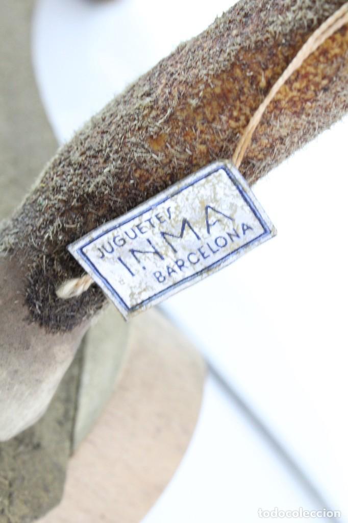 Juguetes antiguos: Precioso caballo Juguetes Imma, Barcelona, semi autómata. Pps del s XX - Foto 5 - 208344196