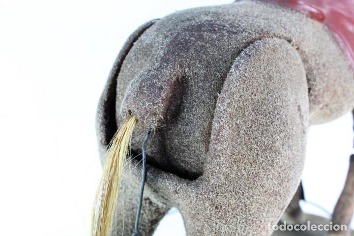 Juguetes antiguos: Precioso caballo Juguetes Imma, Barcelona, semi autómata. Pps del s XX - Foto 10 - 208344196
