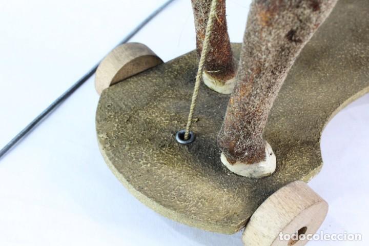 Juguetes antiguos: Precioso caballo Juguetes Imma, Barcelona, semi autómata. Pps del s XX - Foto 11 - 208344196