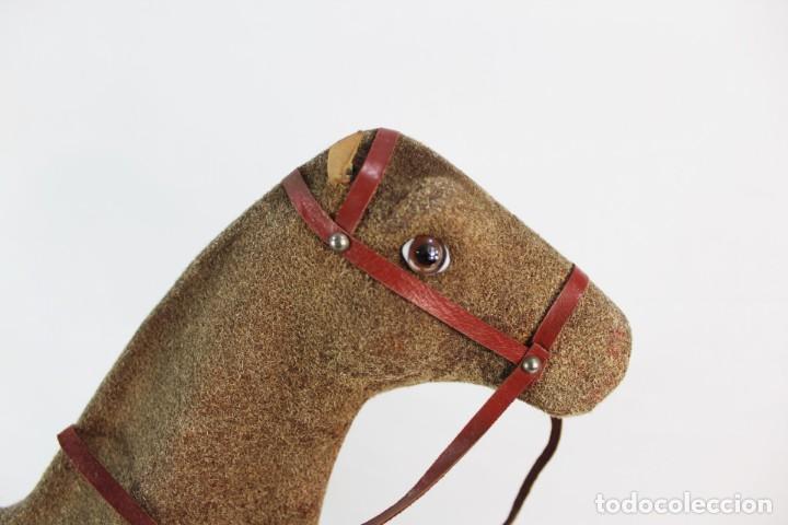 Juguetes antiguos: Precioso caballo Juguetes Imma, Barcelona, semi autómata. Pps del s XX - Foto 14 - 208344196