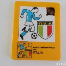 Juguetes antiguos: MINI LABERINTO SELECCION DE ITALIA. Lote 208423890
